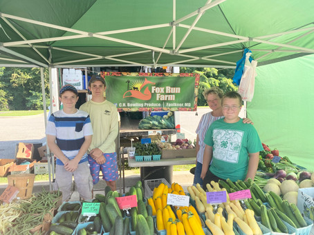 'Buy Local Week' Means Extra Nutrition Benefits at La Plata Farmers Market