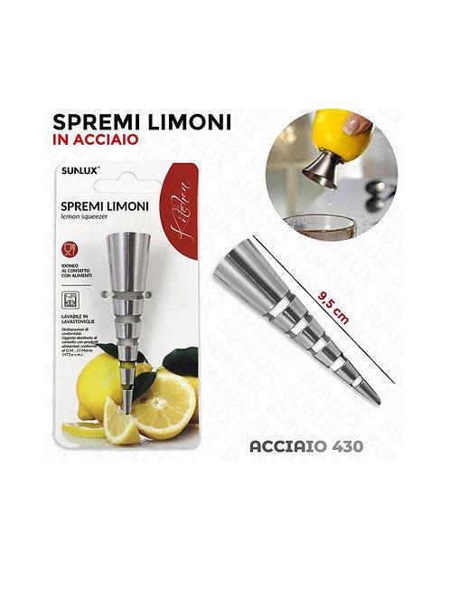 Sunlux, spremi limoni, in acciaio