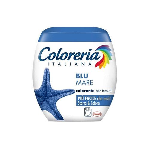 Coloreria colorante per tessuti blu mare