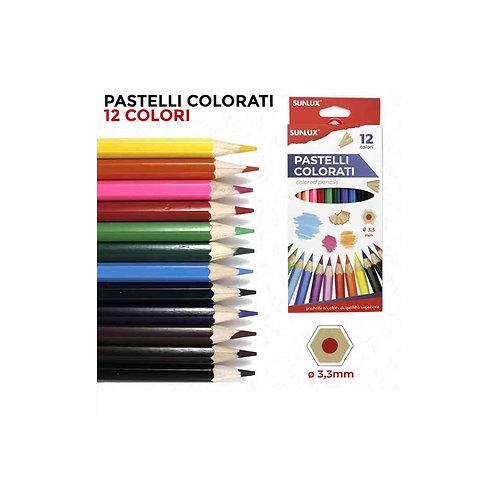 SUNLUX pastelli colorati da 12 colori