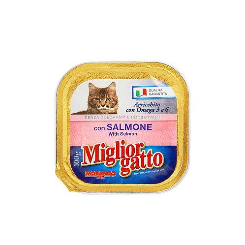 Morando Miglior Gatto Vaschetta con salmone