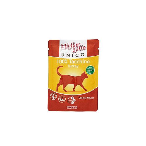 Morando Miglior Gatto Unico delicata mousse 100% tacchino