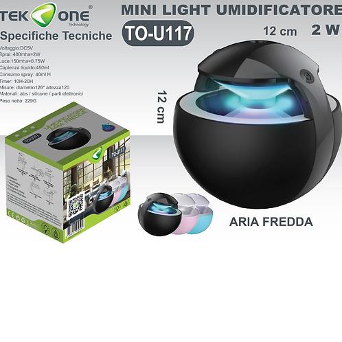 Tekone, mini light umidificatore, aria fredda