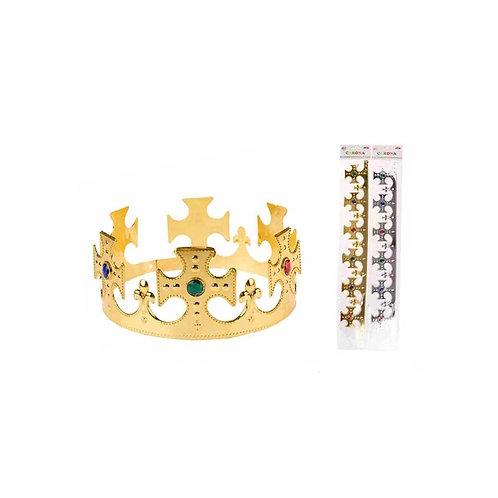 Corona da re oro