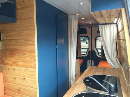 The Wood Cabin Campervan: 4 Birth