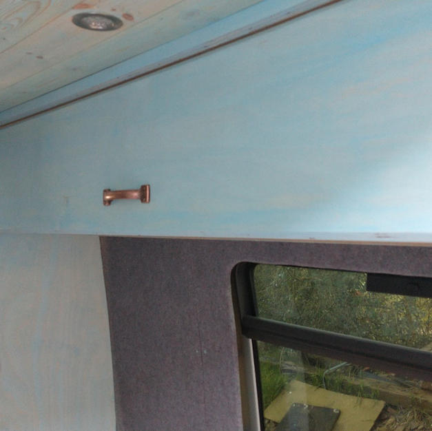 Campervan Wall Cupboard