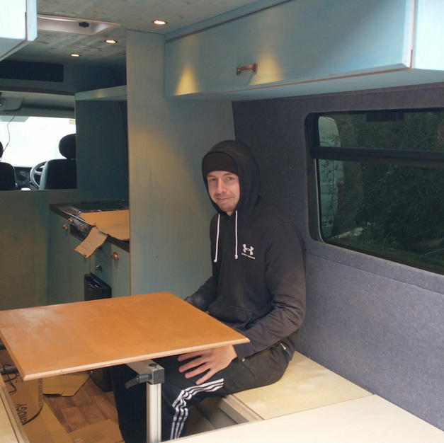 Campervan Seating Area
