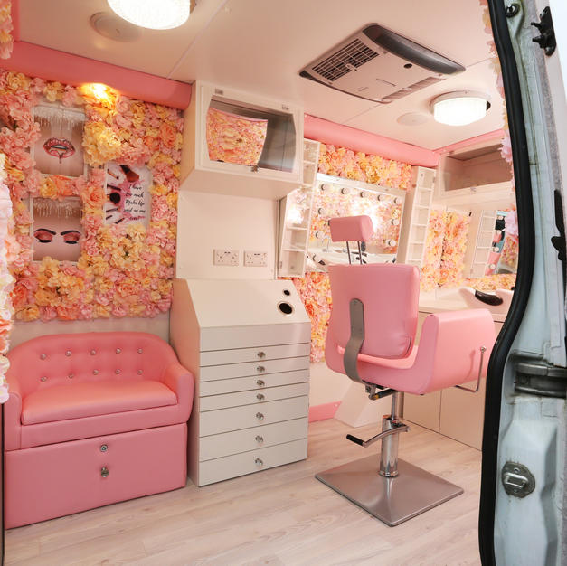 Mobile Beauty Van