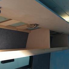Campervan Bespoke Cabinety