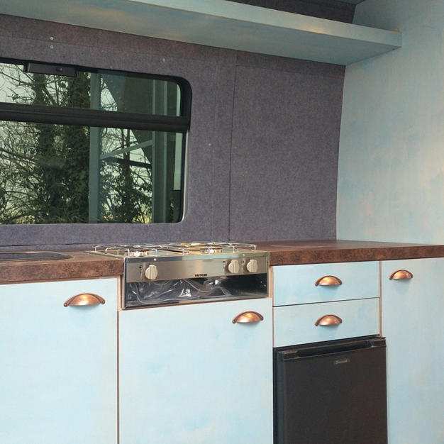 Campervan Kitchen Area