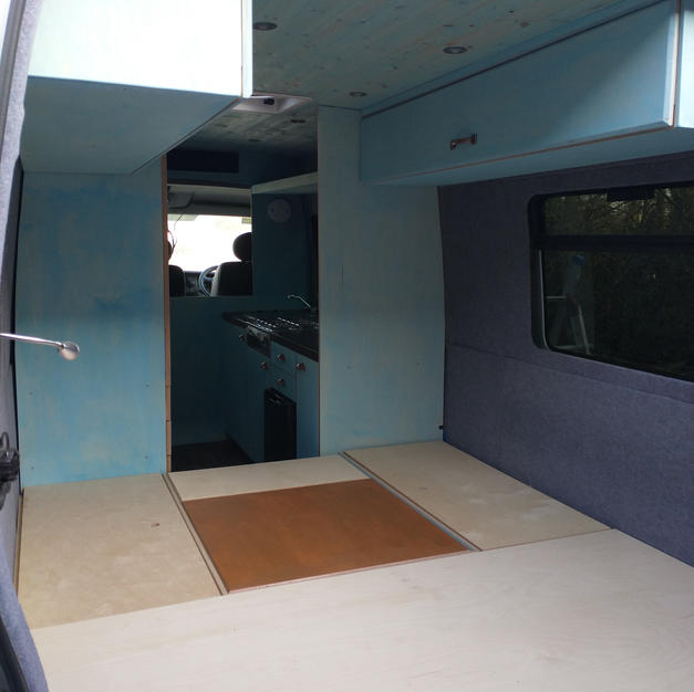 Campervan Bedding Area