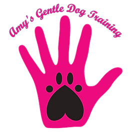 Amy's gentle dog training logo
