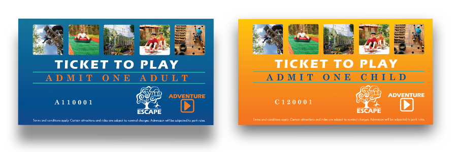 ESCAPE Fraud Tickets