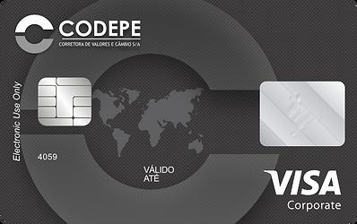 Cartão Pré-Pago de Viagem Visa Corporativo