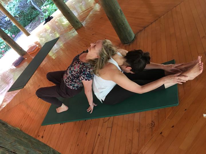 Yoga im Duo