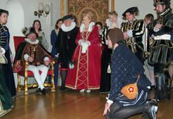 """Gaudeamus igitur in tempore Rudolfi II."" - 1. studentský ples KTF UK (22.2.2006)"