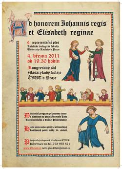 Plakát 6. reprezentačního plesu KTF UK