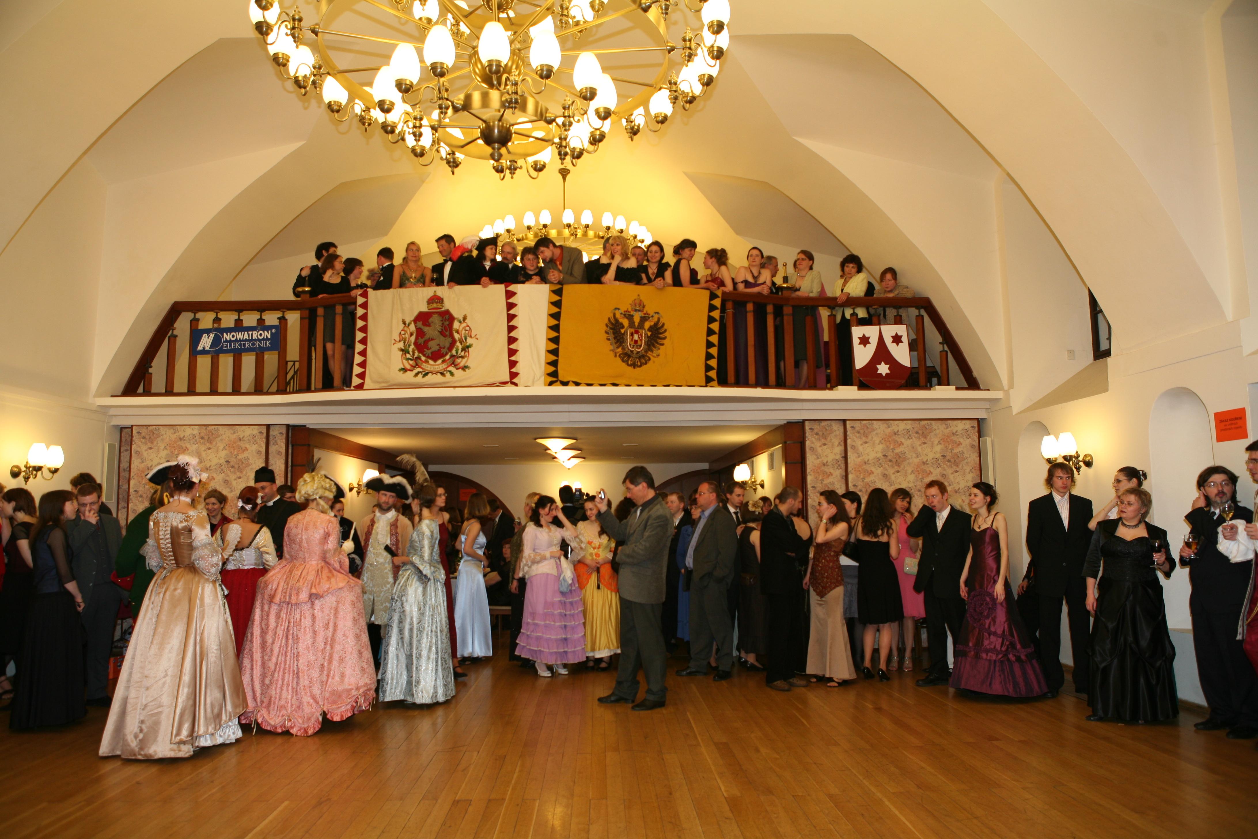 3. studentský ples 2008