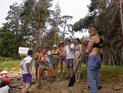 Vodácký kurz - Vltava 2006