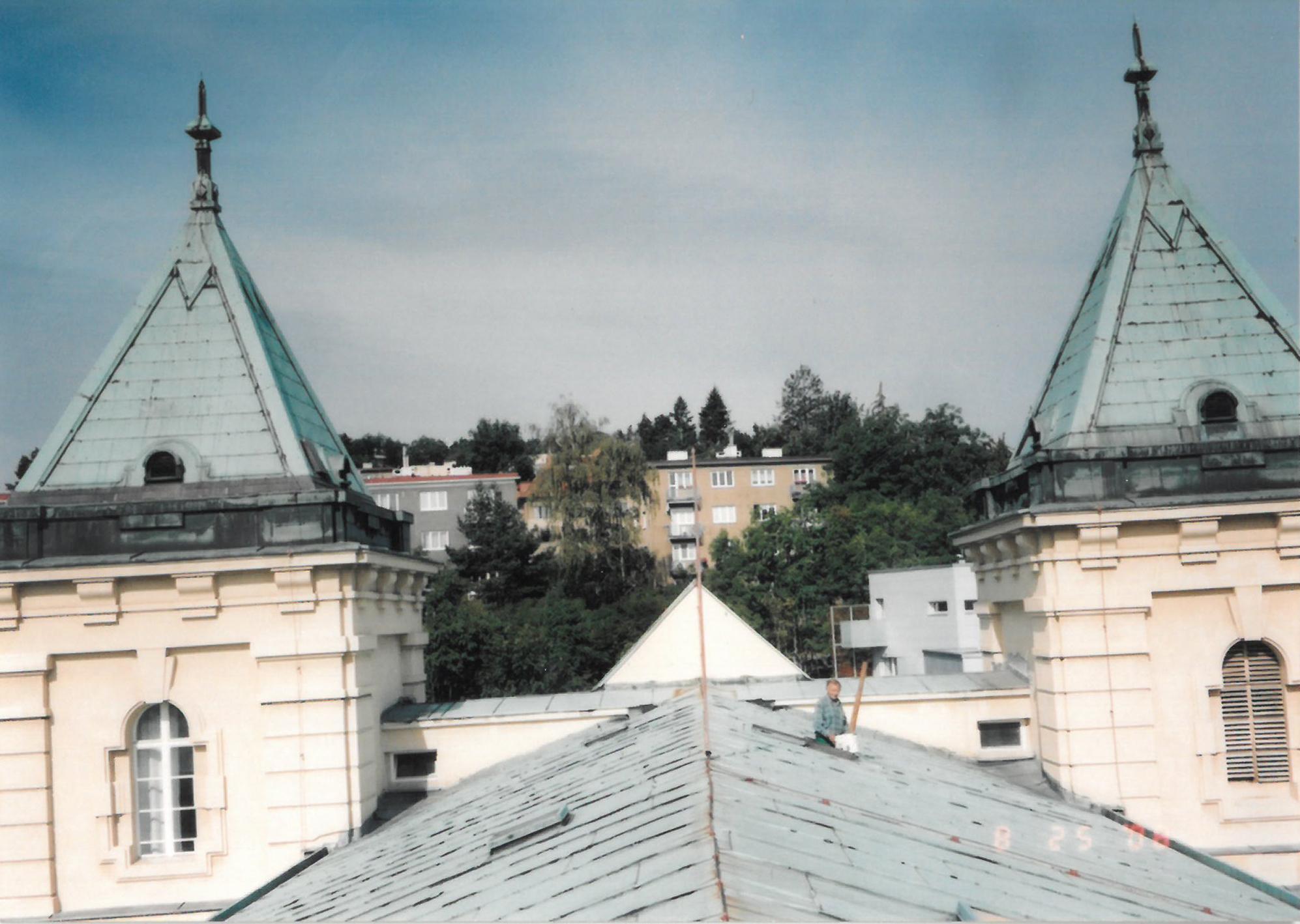 Trochu jiný pohled z budovy než znáte