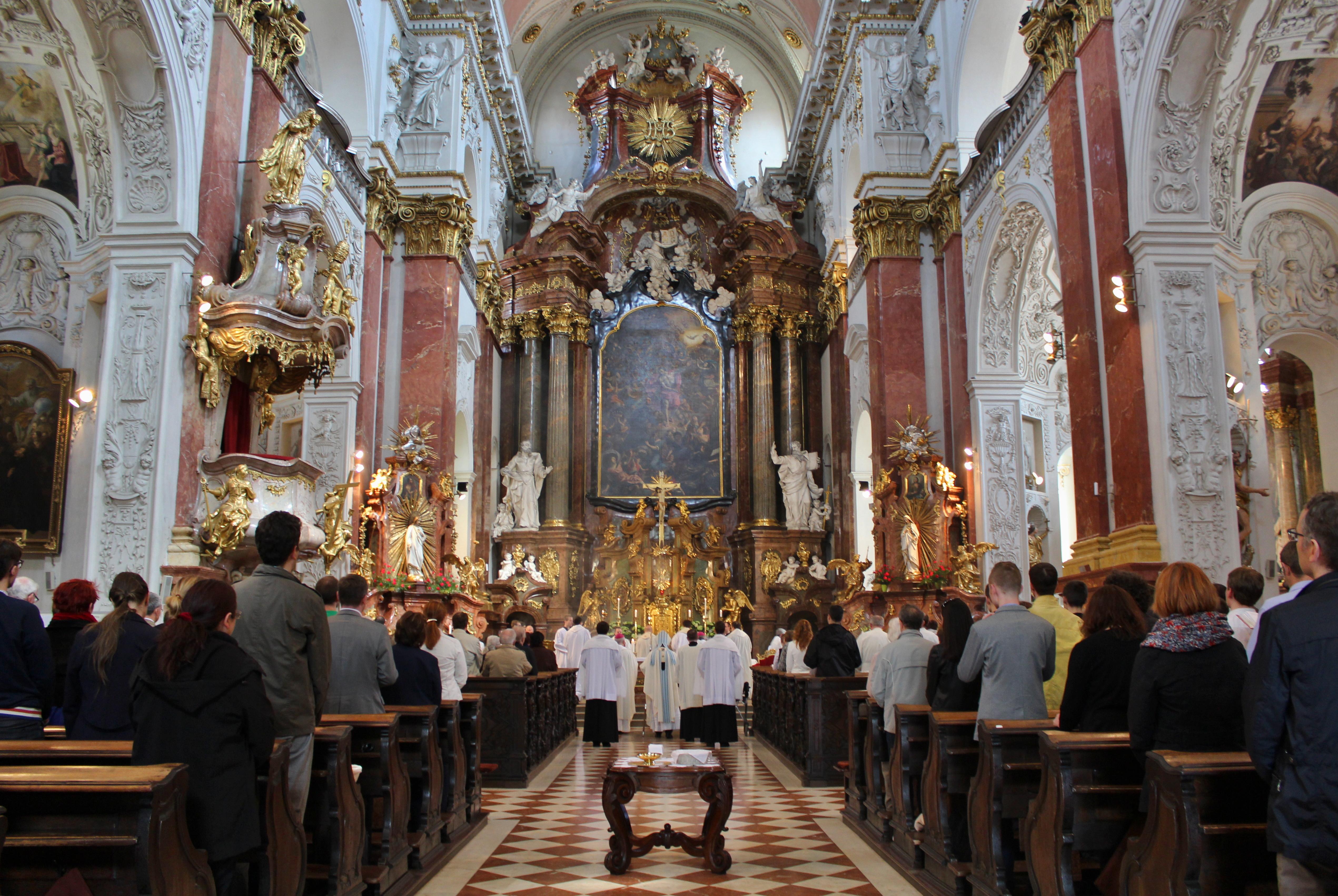 Te Deum u svatého Ignáce 2016