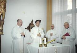 Ve fakultní kapli 8.1.2014