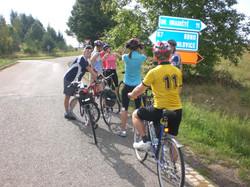 Cyklistický kurz 25.8.2008 - 28.8.2008