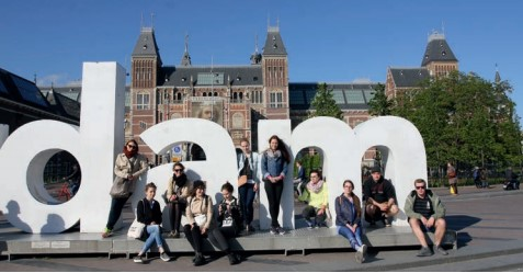 Studijní exkurze do zahraničí, Rijksmuseum, Amsterdam