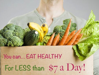 How to Eat Healthy in Under $7 A Day