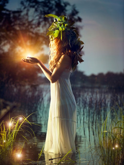 bigstock-Fantasy-girl-taking-magic-ligh-