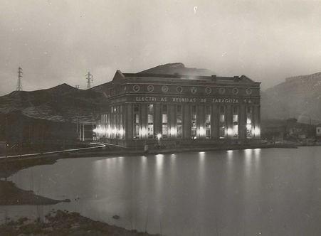 Central Térmica. Alrededor de 1952-1955