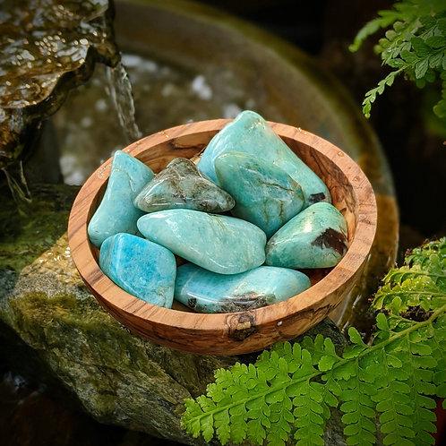 Amazonite Tumbled Stone  Ethically Sourced