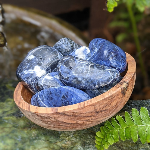Sodalite Tumbled Stone Ethically Sourced