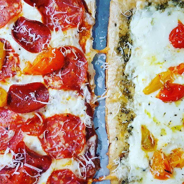 Yumm pizzas!