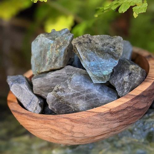 "Labradorite  ""Spectrolite ""  Raw  Ethically Sourced"