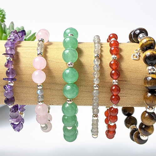 Genuine Crystal Bracelets   Ethically Sourced