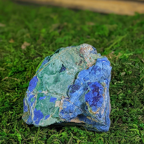 Azurite & Malachite Med Piece Ethically Sourced