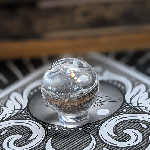 Clear Quartz Sphere Ethically Sourced