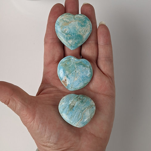 Aragonite Heart  Ethically Sourced