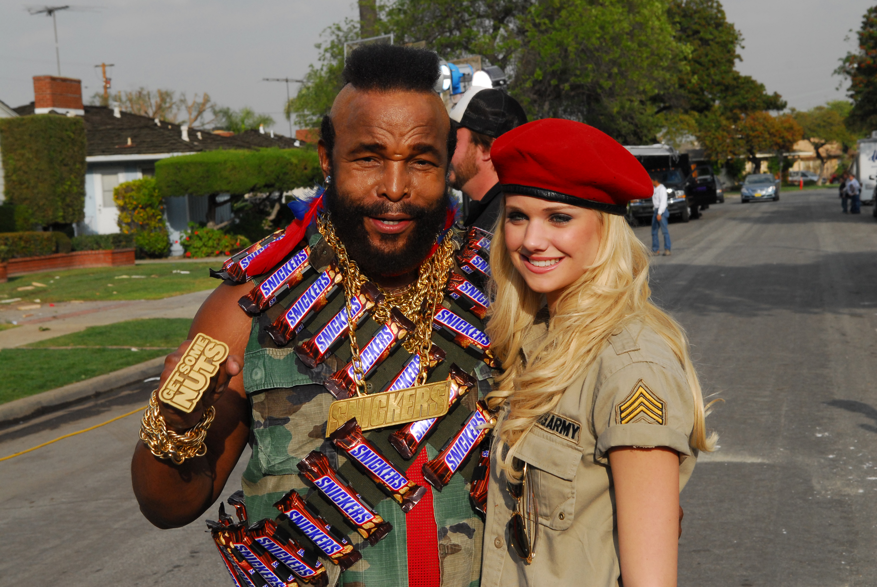 Snickers Commercial with Mr. T