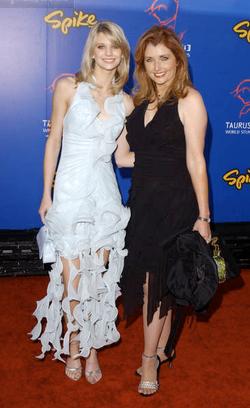 Stunt Awards-Katie and mom Morgan