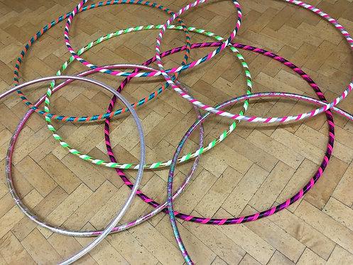 Buy your first hoop! Beginner's made to measure hula hoop.
