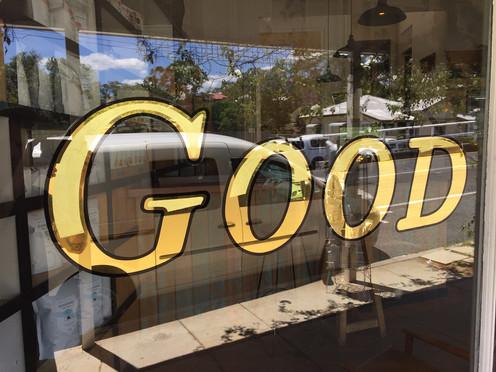 23k Red Gold with 22k Satin Gold fill for Good Folk cafe