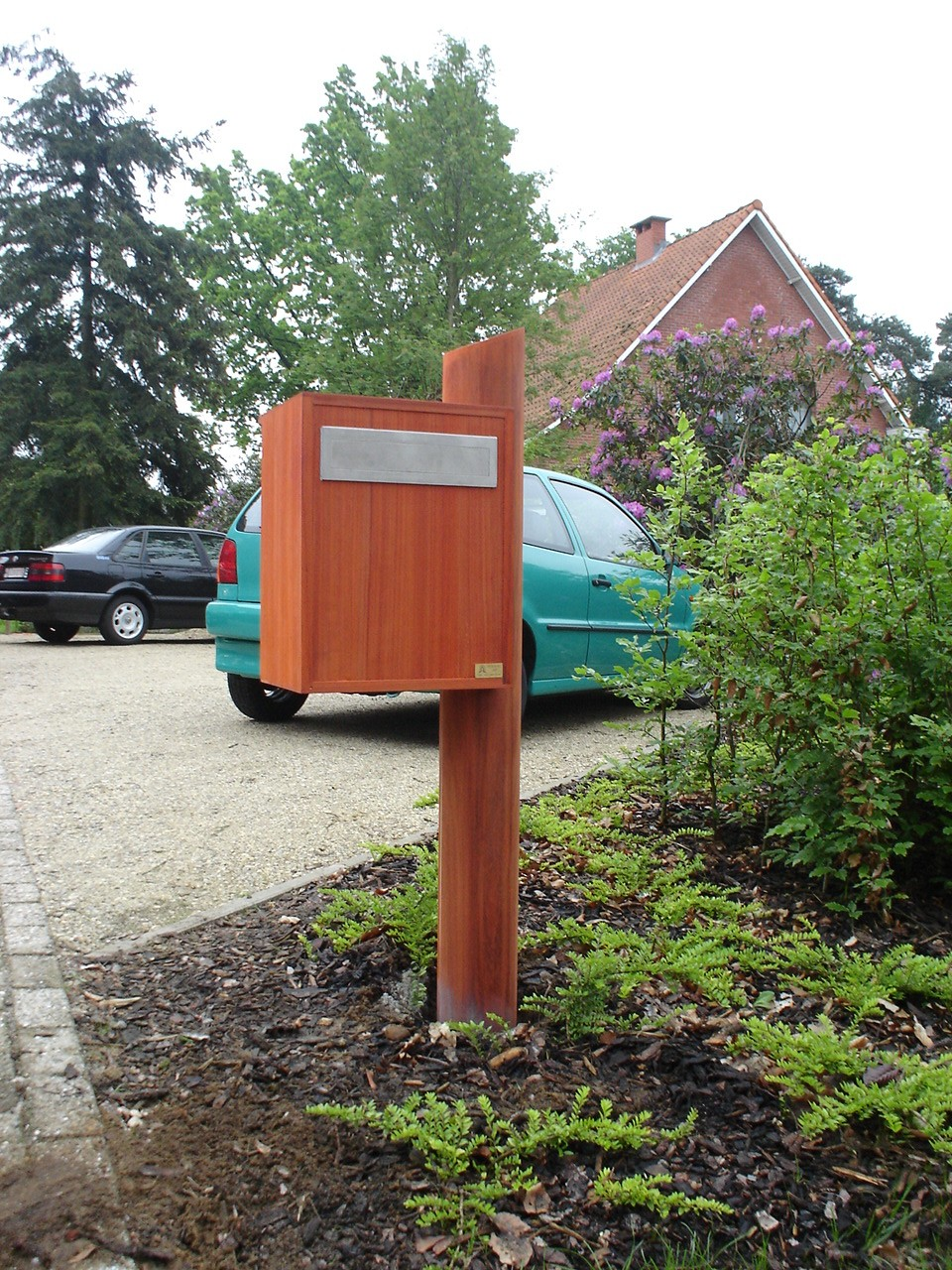 houten Brievenbus - Peeters Jef bvba