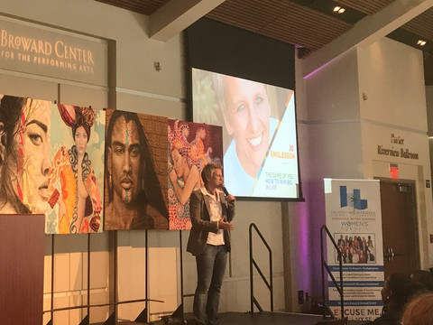 Keynote at International Woman's Day 2019 for the Greater Chamber of Commerce Fort Lauderdale