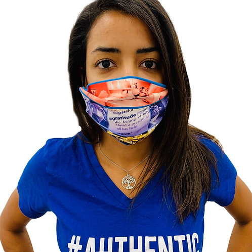 FRONTLINE 2-ply Face mask with elastic strap and pocket (3-pack)