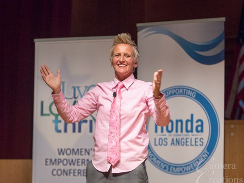 Keynote at Live Love Thrive Conference in Los Angeles