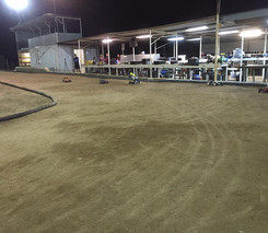 Tmorc track at night