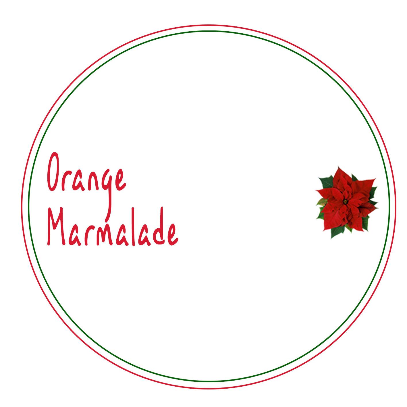 Christmas Hamper Label design