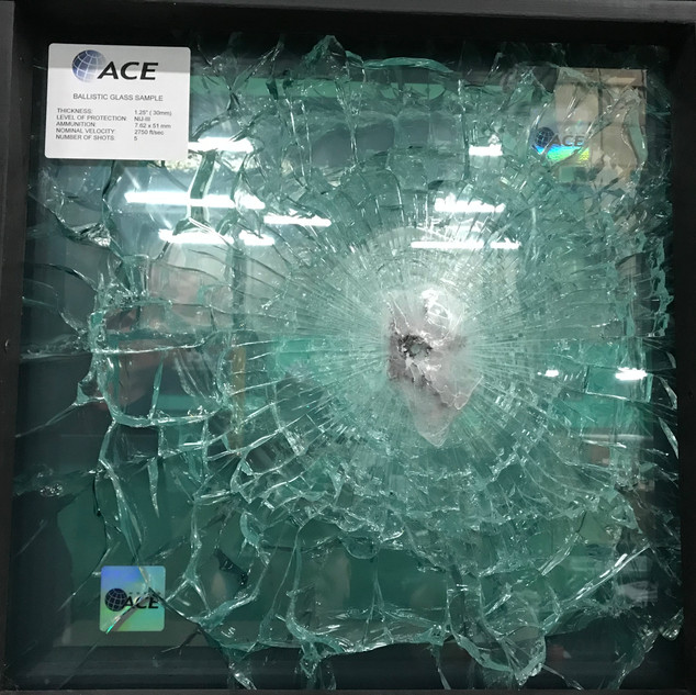 Bullet Proof Glass Testing